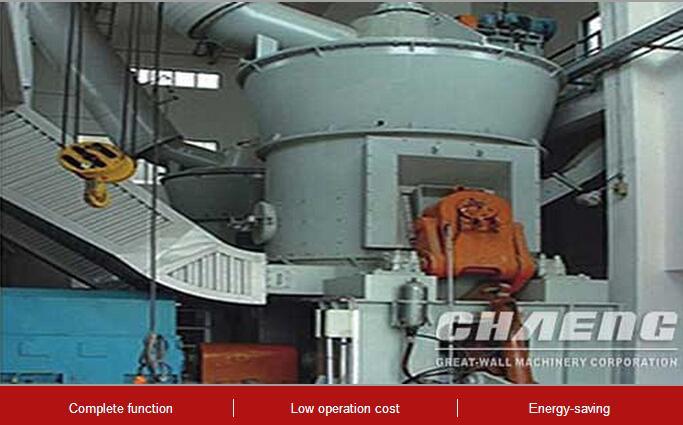 Coal vertical roller mill