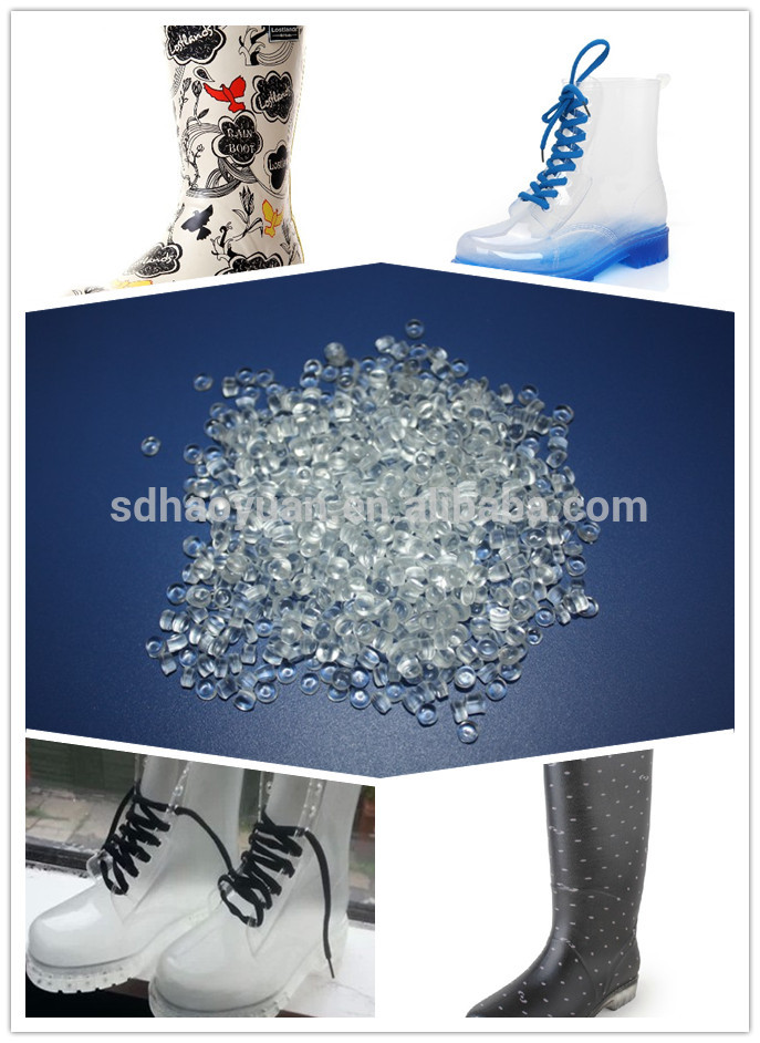 PVC Transparent Granules for Waterproof Boots