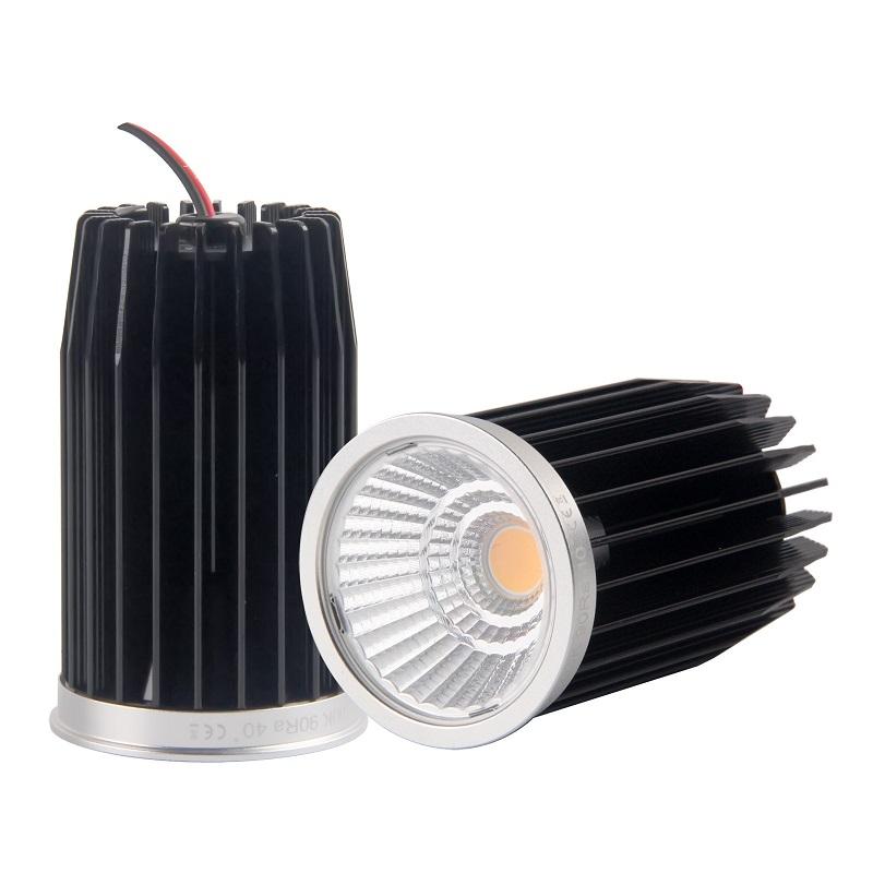 Super 9.3w CRI90 2700K warmwhite bridgelux cob led downlight mr16 led module