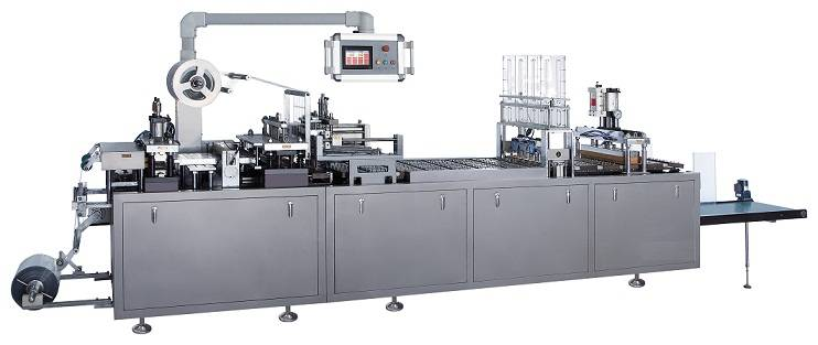 Linear Auto Plastic-Card Blister Packing Machine
