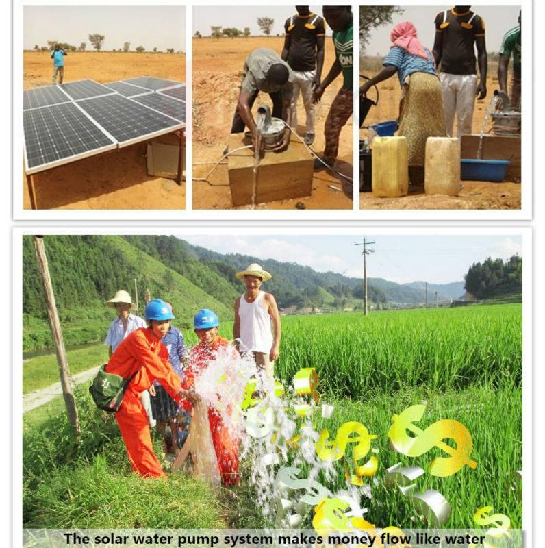 high lift heavy duty solar water pump