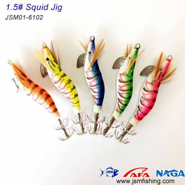 made in china small size plastic squid jigs hooks