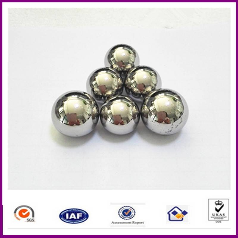 steel ball manufacturer of chinese factory / chrome ball / G25 size 5-10mm
