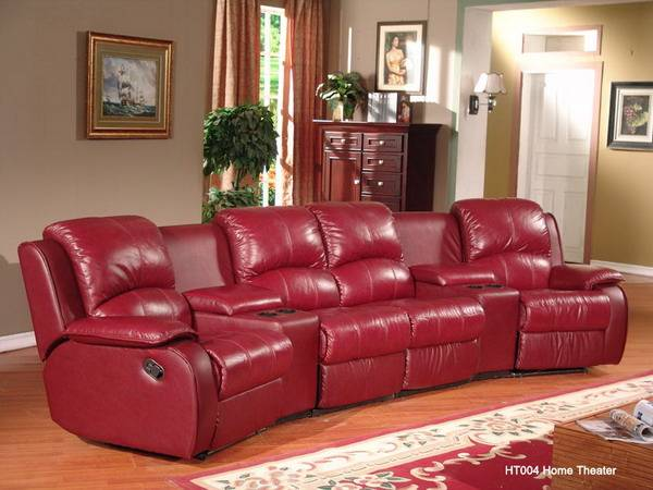Home Theater Electric Motion Recliner Cinema Sofa