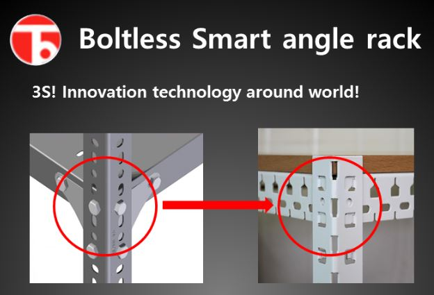 Boltless Angle/Shelves