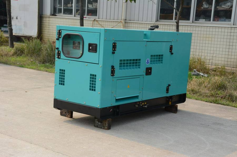 300kW Sient Soundproof Diesel Generator with Chinese Engine Faraday Three Phase Alternator