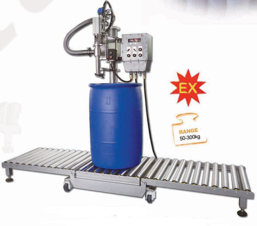 Explosion-Proof Solvent Paint Thinner Filling Machine for Chemicals