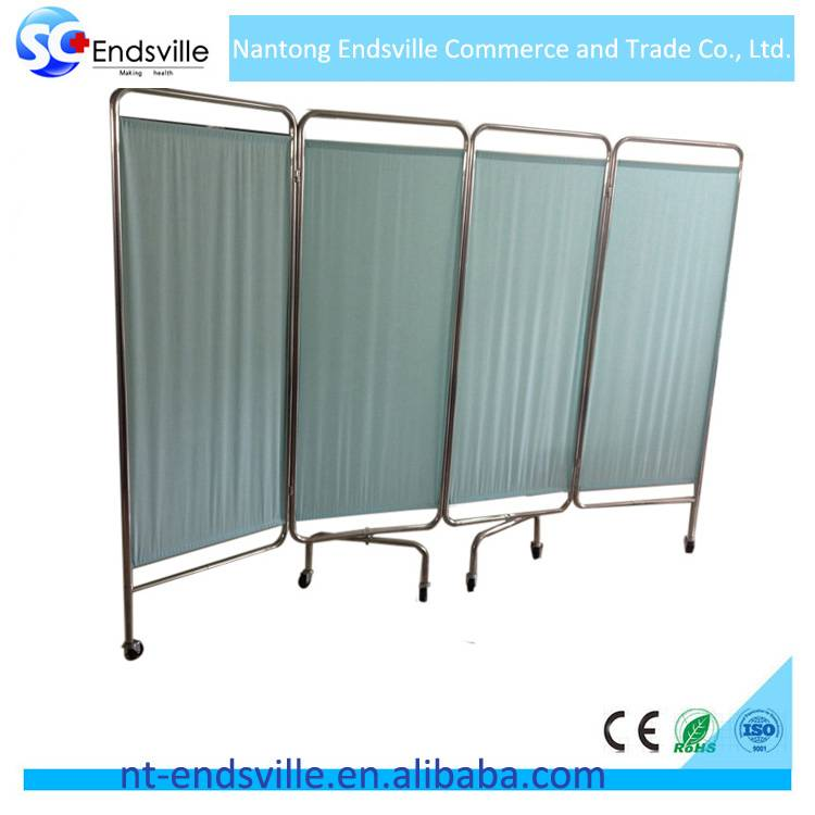 China factory direct price hospital ward room folding screen room divider