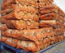 Dried oak firewood in net bags 40l and 22l discount sales