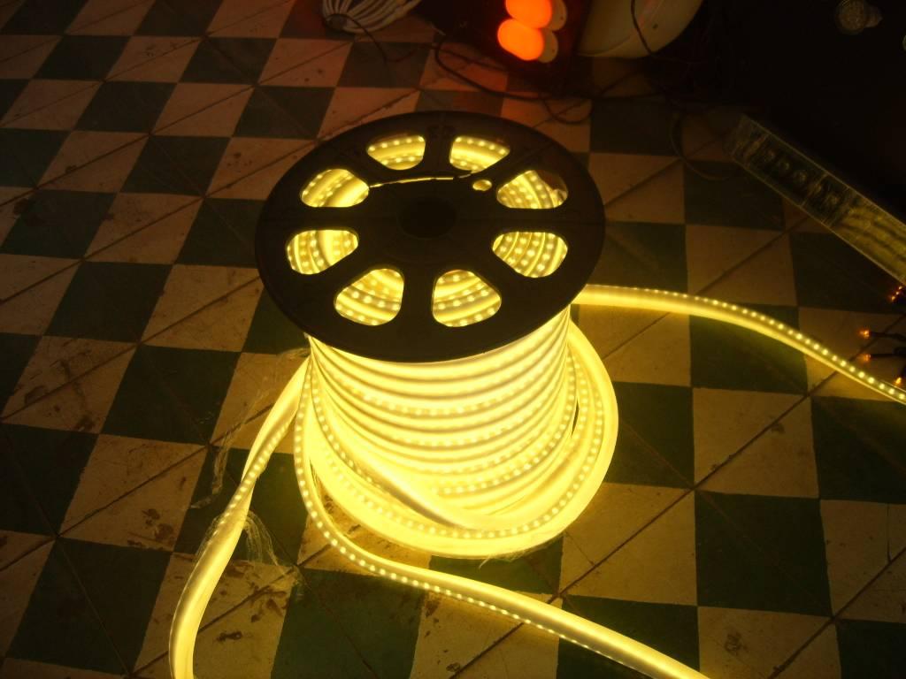 LED flexible neon rope light