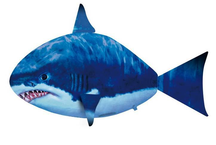 Air swimmer flying shark