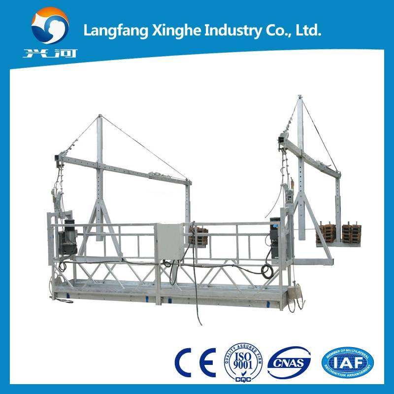 zlp800 rope suspended platform/ suspended cradle / construction gondola