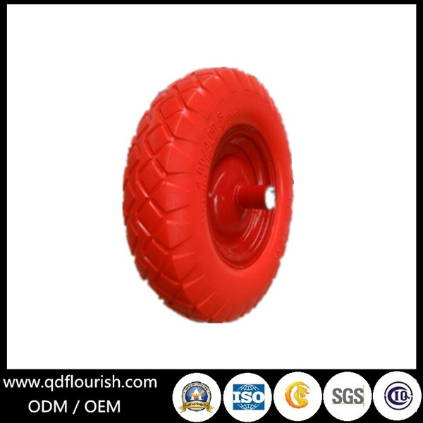 PU Foam Wheel Tyre for Cart Trolley Barrow