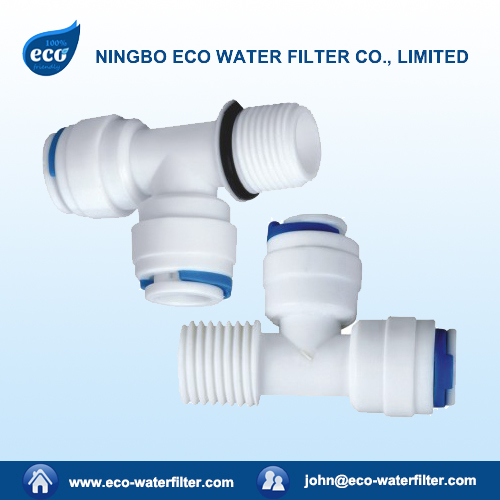 plastic water filter quick connector