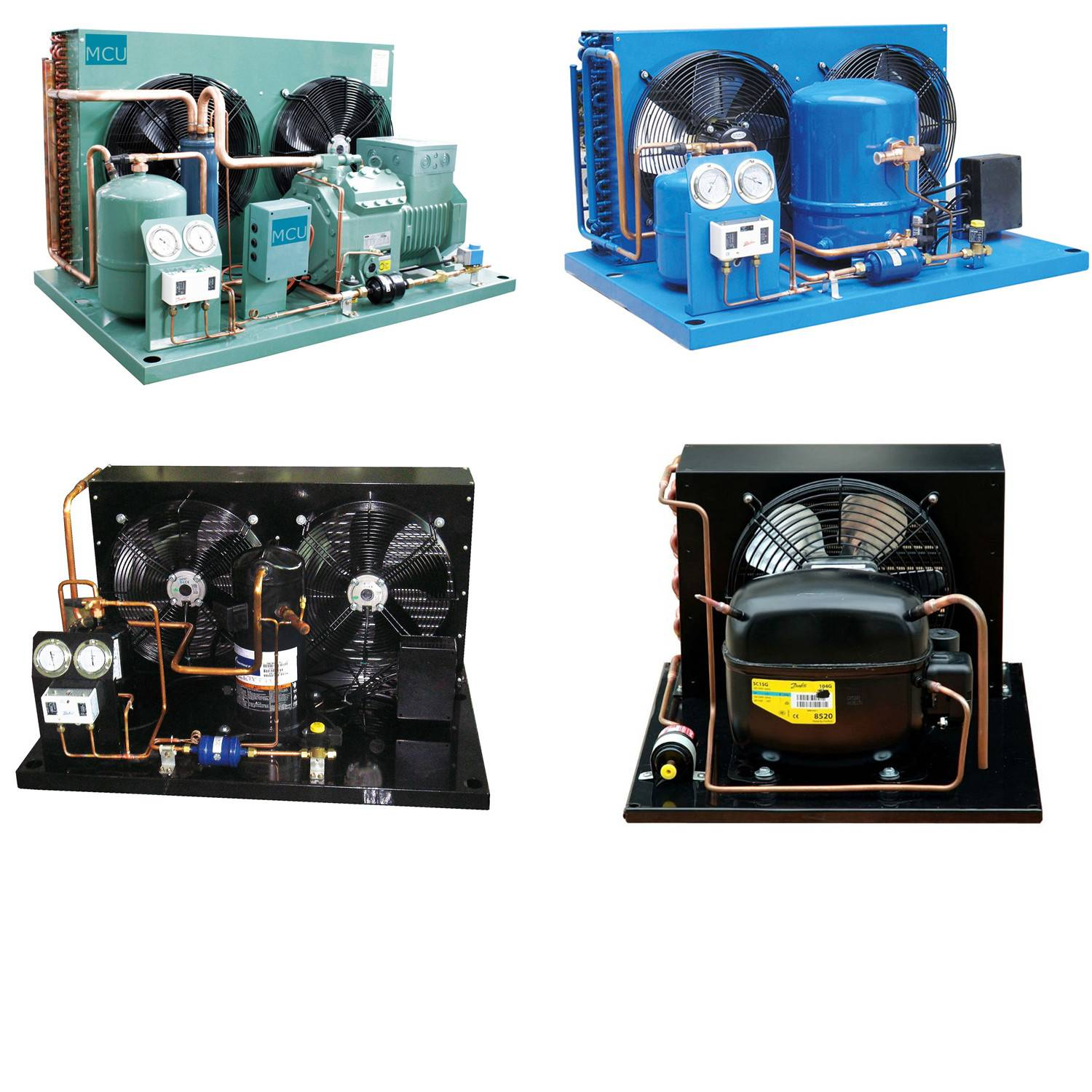Refrigeration cycle and CE Certification cold room refrigeration condensering units