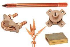 Earthing Accessories Earth Rod Copper rod