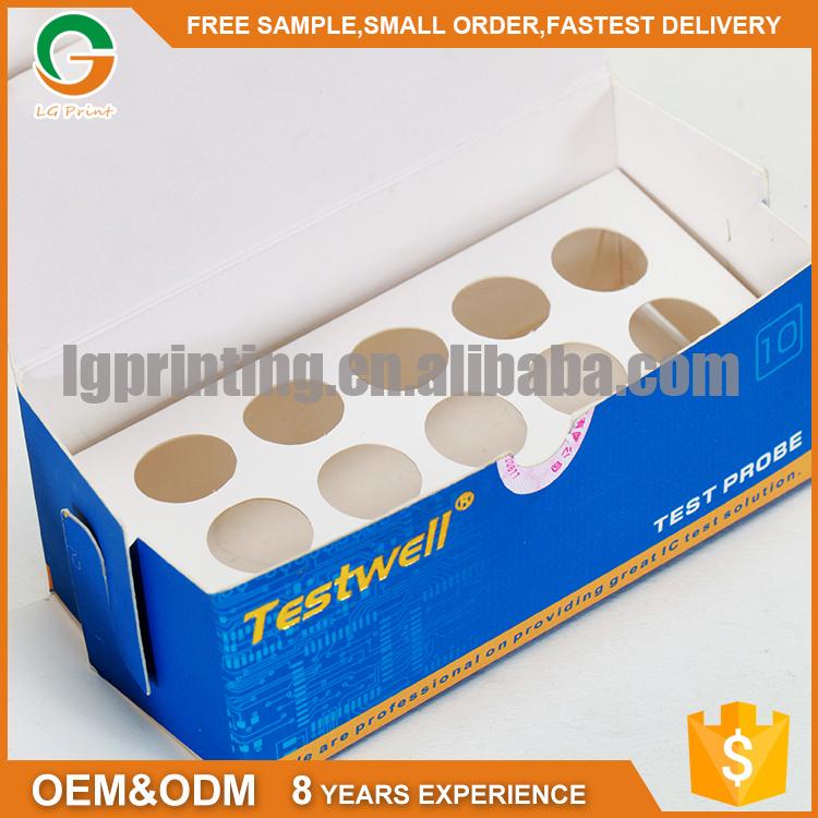 gold stamping logo art paper packing box custom printed