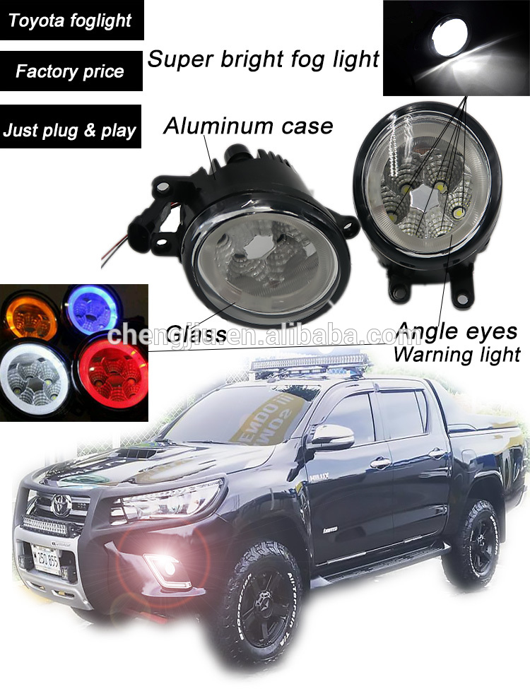 CE certificate high quality angel eyes fog light from direct manufacturer led fog lamp