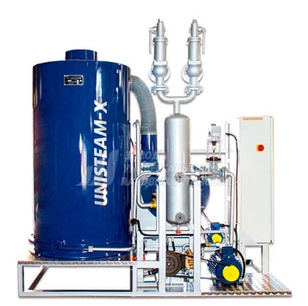 UNISTEAM-X OPTIMAL 1600 gas and diesel steam boiler for medical and pharmaceutical industries