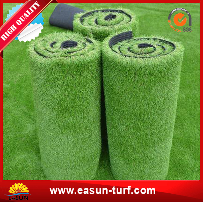 plastic green synthetic turf artificial grass for garden -AL