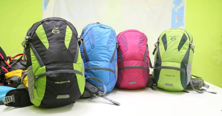 VELOCITY 25L capacity backpack