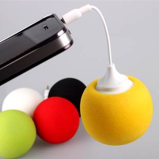 Sponge Multimedia Speaker,Balloon Speakers