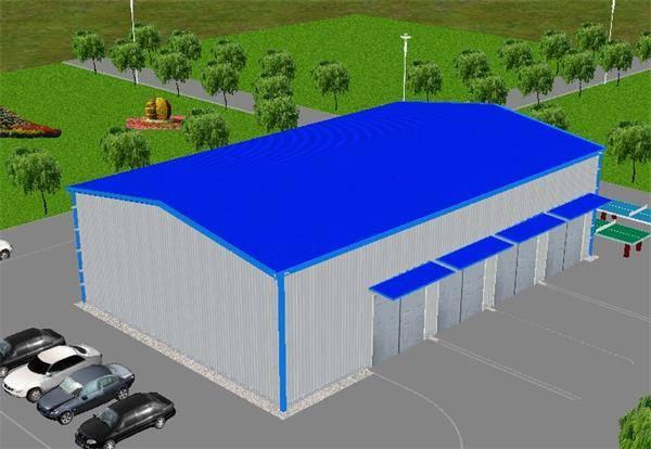 Metal garage workshop on sale