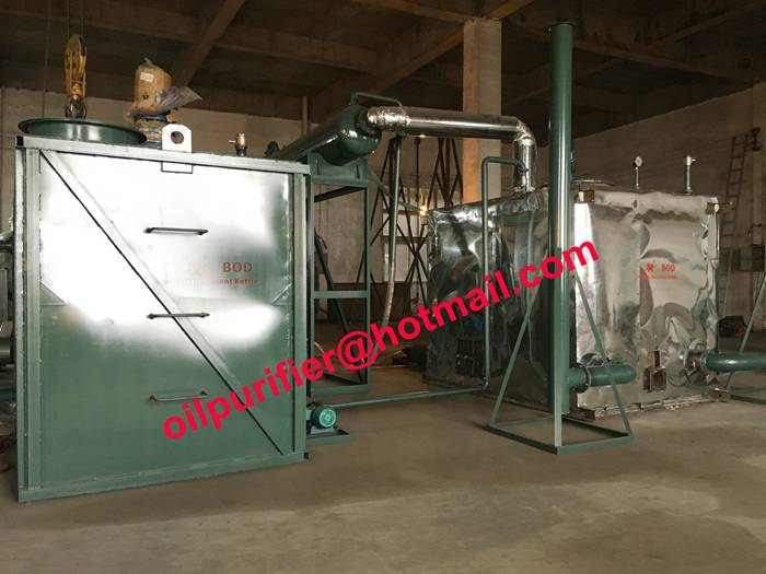 waste engine oil Vacuum distillation plant, motor engine oil recycling system