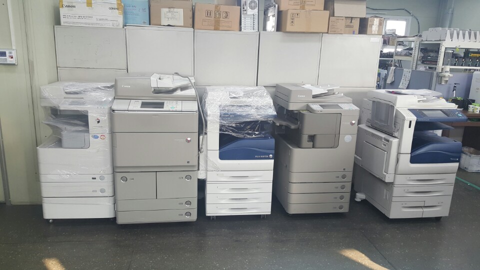 USED DIGITAL COLOR COPIER CANON IR-5065/5075