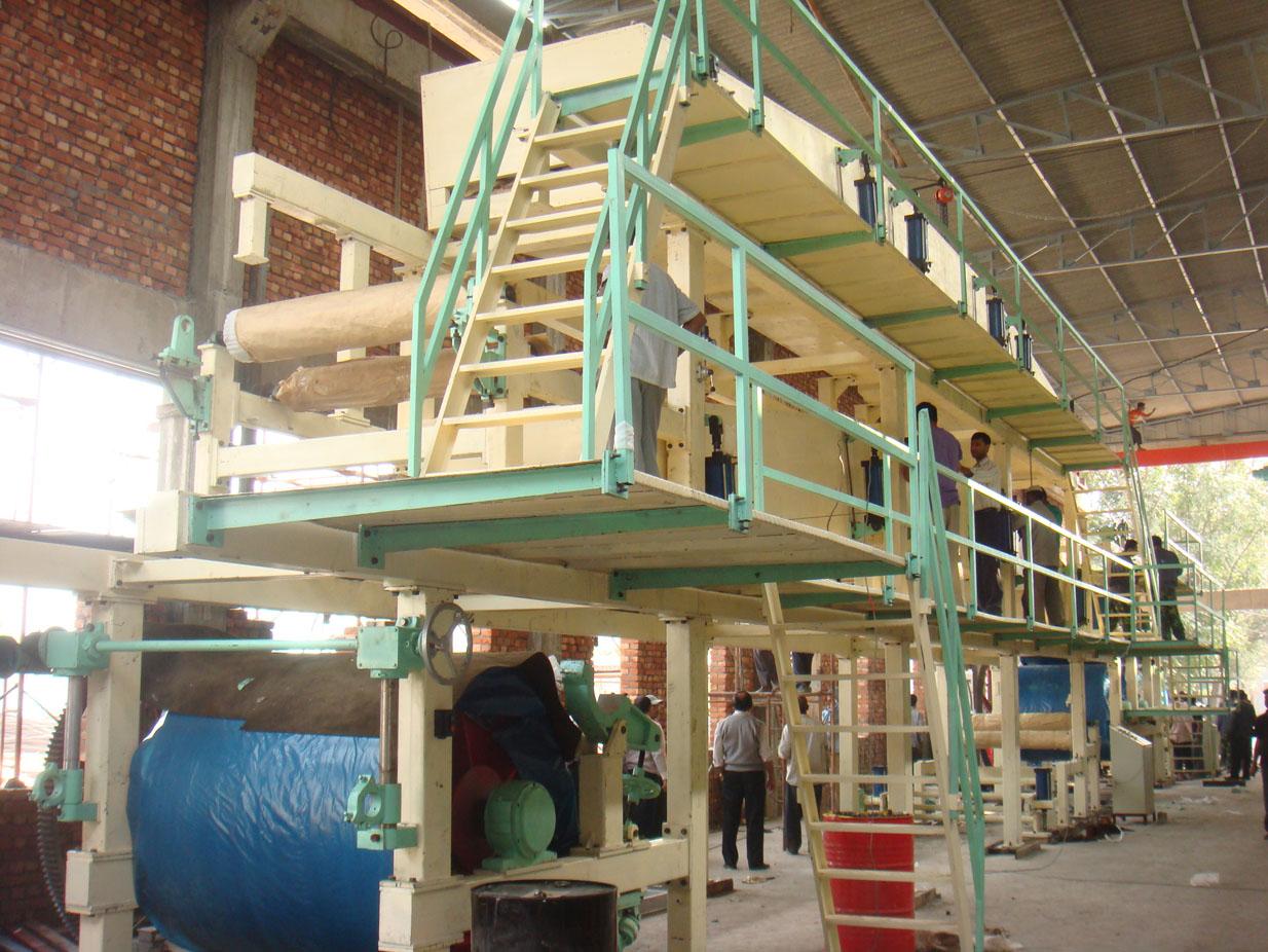 1880/300 duplex board paper coating machine