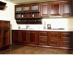 American solid wood kitchen cabinet