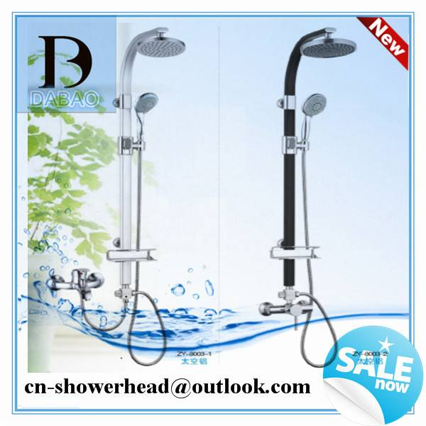 Bathroom Rainfall Shower Set and SPA Massage Rain Shower Set with Hand Shower Head