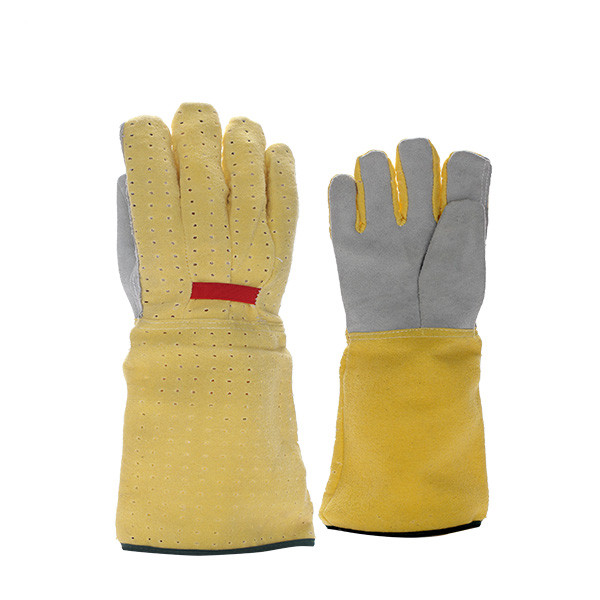Long Sleeve Winter Gardening Gloves, Anti-slip