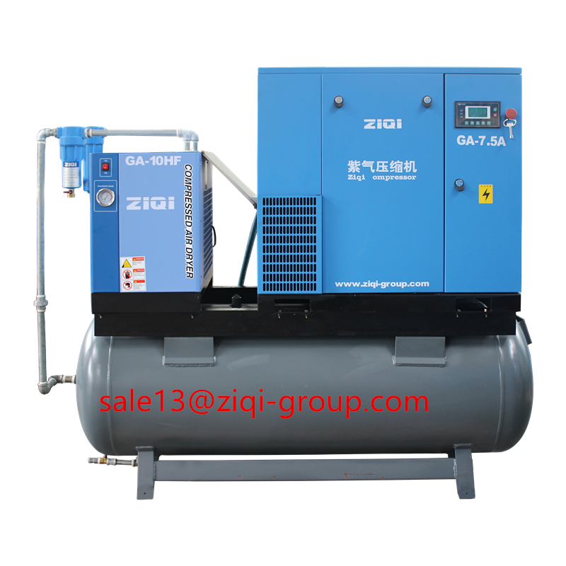 AC Power Air Compressor Compact Mounted Air Compressor
