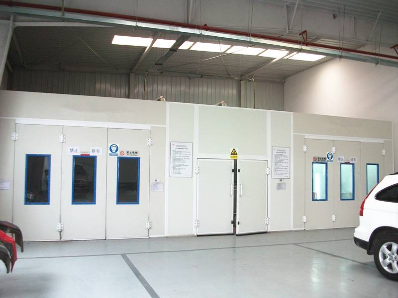 Diesel Heating System Spray Paint Booth for Car