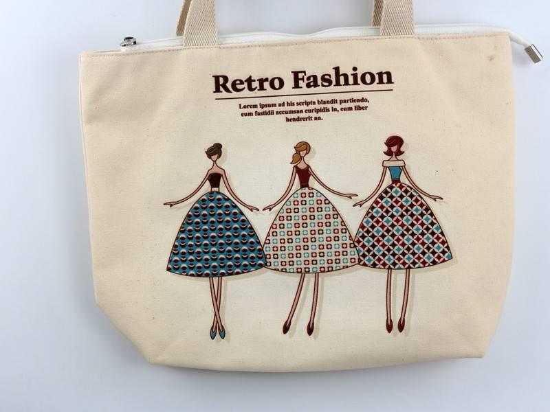 Hot Sales Dye Sublimated 10oz Canvas Cotton BagsReusable  Sublimated Oxford Carrier Bags2