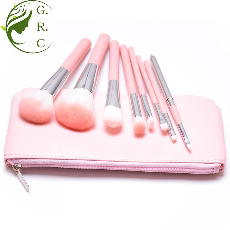 wholesale cosmetic brushes 8pcs makeup brush set maquillaje