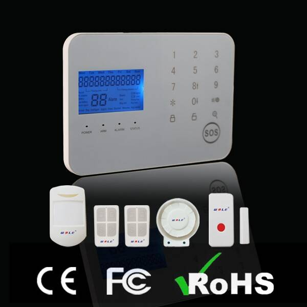Language Can Be Customized Wireless Home GSM Alarm System (Touch Keypad)