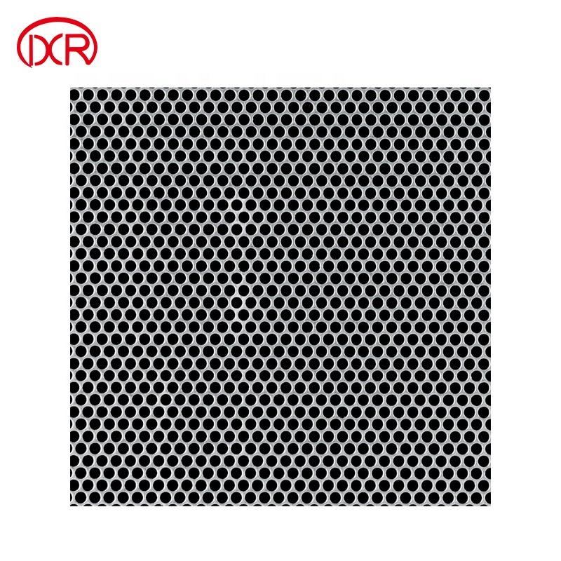 circle perforated stainless steel sheet metal mesh