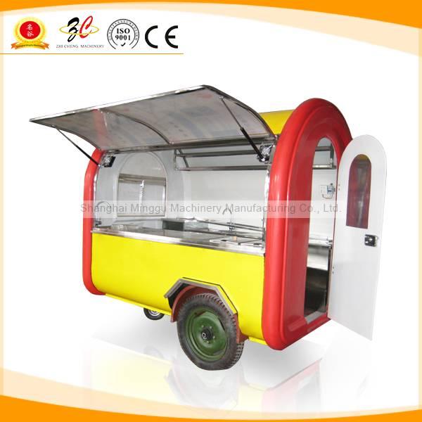 China export mobile food cart
