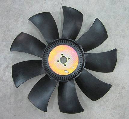 Higer bus parts bus fan assy