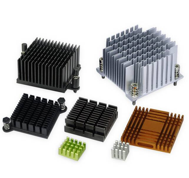 Christmas T3-T8 profile 6063 aluminum small extruded IC/Chip/RAM/GPU/CPU heat sink heatsink