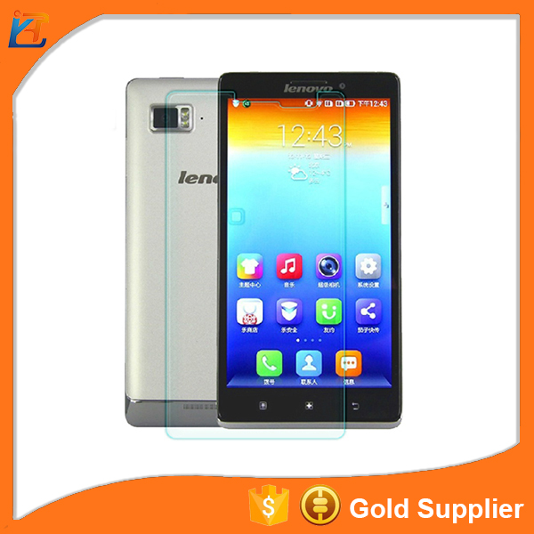 factory price 2017 hot tempered glass screen protector for lenovo a706