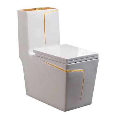 2018 new good sale square big ceramic toilet