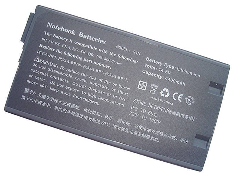 notebook battery laptop battery for SONY VAIO PCG-700 series