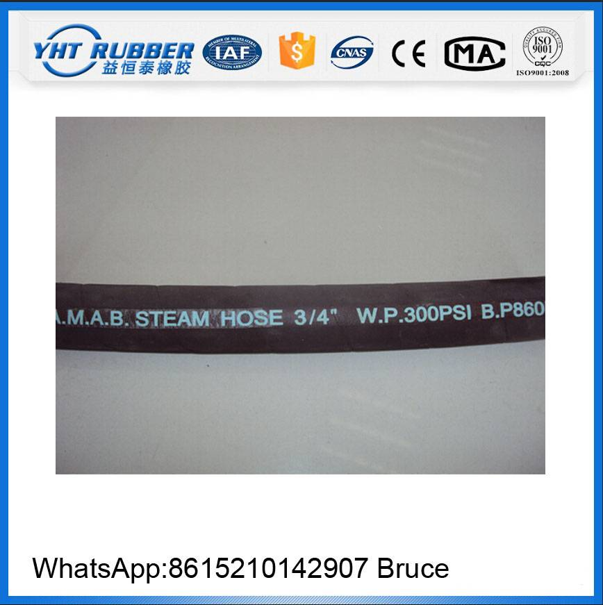 China Supplier high temperature high pressure steam hose