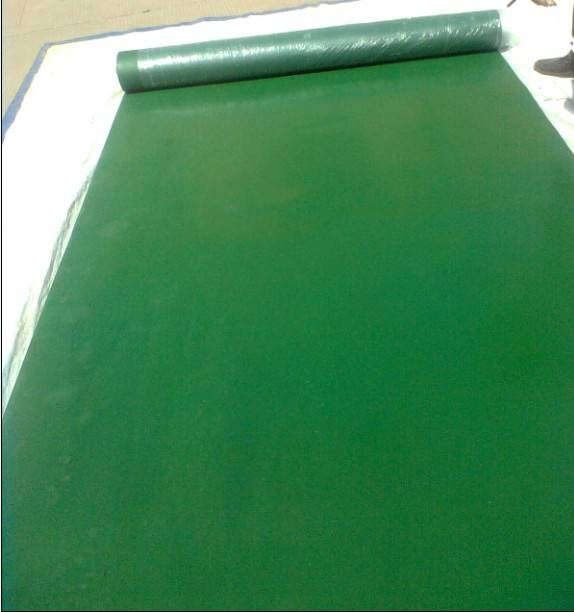insulating rubber mats for electrical purposes
