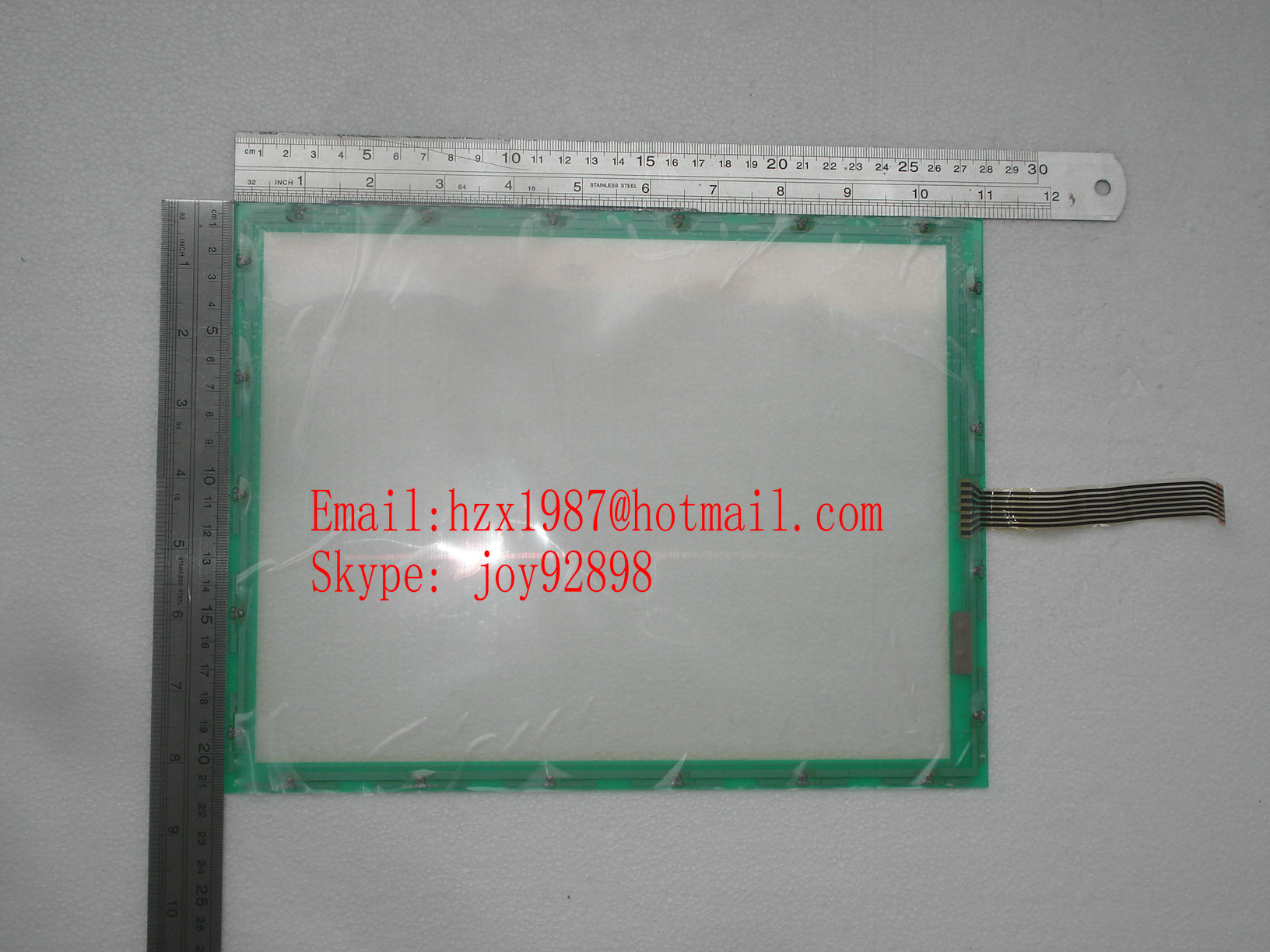 Sell N101-0550-T711 N010-0550-T255 12.1'' 7WIRES touch panel  TOUCH SCREEN