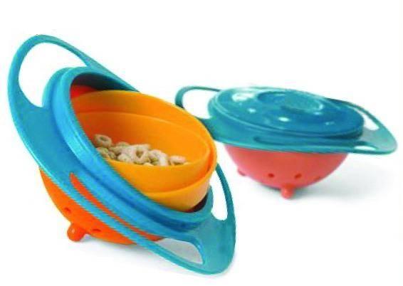 As Seen On TV Plastic Gyro Bowl/Baby Bowl/Food Bowl