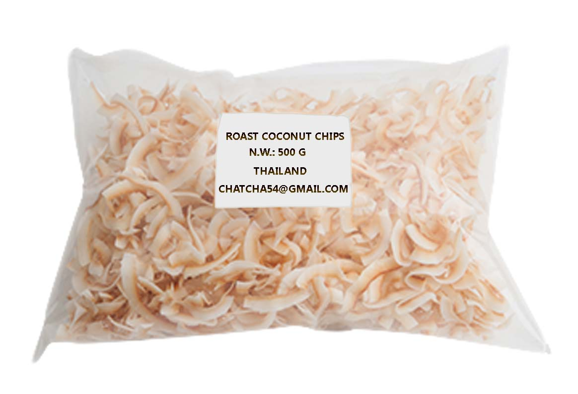 Roast coconut chips